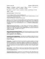 Conseil municipal 29 01 2020